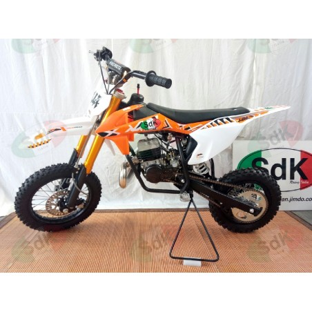 Pit Bike  JUNIOR 2T 9cv 49cc Cross 12-10