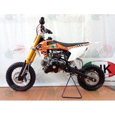 Pit Bike JUNIOR 4T 49cc Cross 12-10 sospensioni Top