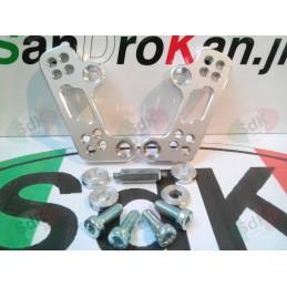 HONDA CBR 600RR K8-K12 arretratori : Color – Silver