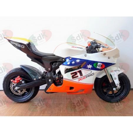 MIDImoto minimoto SBK SXR 2t 49cc Maggiorata Novità