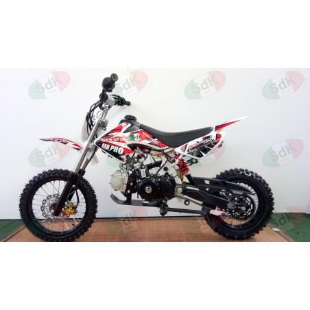 Pit Bike 4T NX 125 Cross Automatica Avv. Elettrico 14 12