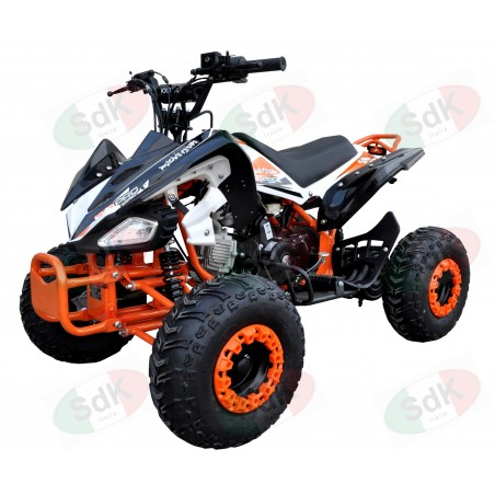 "Quad ATV Phanter 4 125cc 7"" Automatico + Retro"