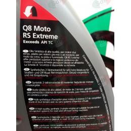 Olio miscela Q8 2T sintetico minimoto