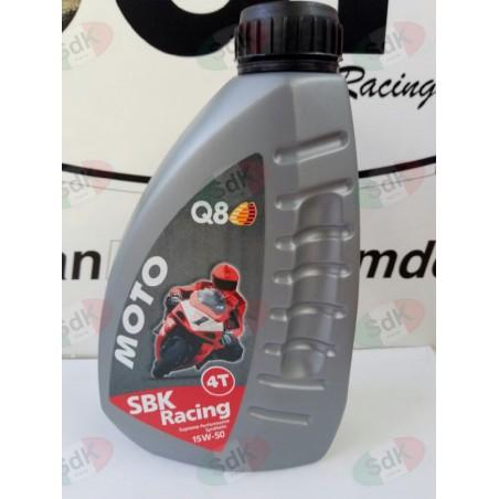 Olio motore 4T Maximoto 15W-50 Q8 100% sintetico