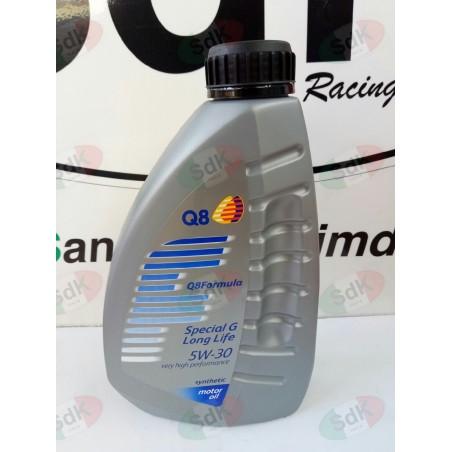Olio motore 4T Competizione Pit bike 5W-30 Q8 100% sintetico